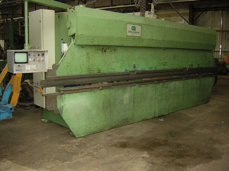 PRESSE PLIEUSE&nbsp;GABELLA&nbsp;80&nbsp;Tonnes&nbsp;x&nbsp;6000&nbsp;mm&nbsp;&nbsp;