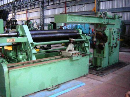 VARIOS CHAPISTERIA BOLDRINI MACHINE A TOMBER LES BORDS  - 12/4000 mm