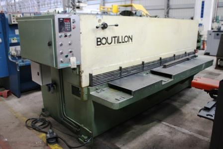CIZALLA GUILLOTINA&nbsp;BOUTILLON&nbsp;3000&nbsp;mm&nbsp;x&nbsp;4&nbsp;mm&nbsp;&nbsp;