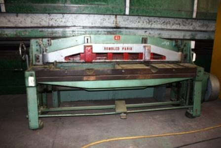 CISAILLE GUILLOTINEBOMBLED2000mmx4mm