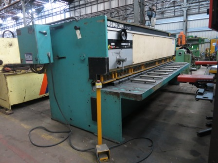 CISAILLE GUILLOTINE PROMECAM 4000 mm x 8 mm