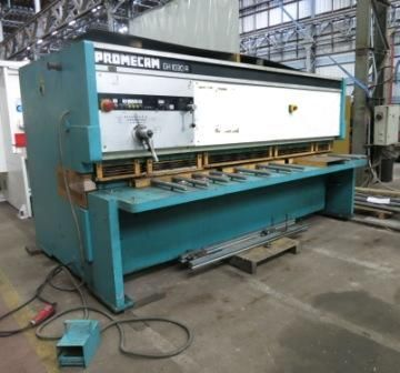 CISAILLE GUILLOTINE PROMECAM 3000 mm x 10 mm