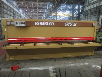 CISAILLE GUILLOTINE BOMBLED 4000 mm x 6 mm