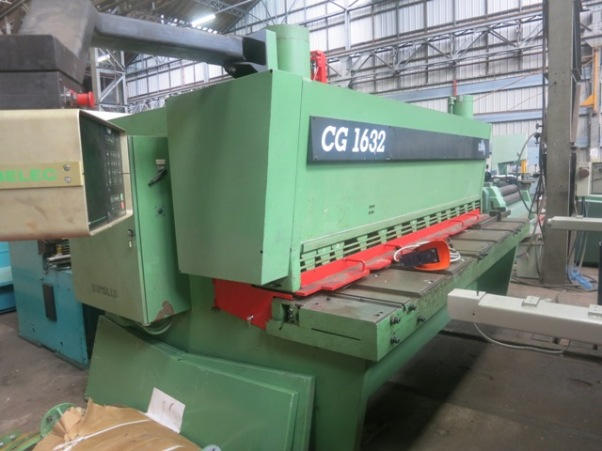 CISAILLE GUILLOTINE COLLY 3000 mm x 16 mm