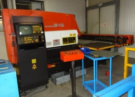 POINCONNEUSE CNC AMADA ARIES 2.4.5  - 20 ton - 2000 x 1000 mm
