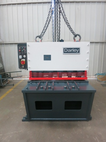 CISAILLE GUILLOTINE DARLEY 1100 mm x 20 mm