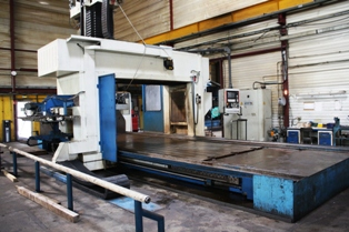 GANTRY MILLING MACHINE NORMA 6000 mm x 2500 mm x 1000 mm