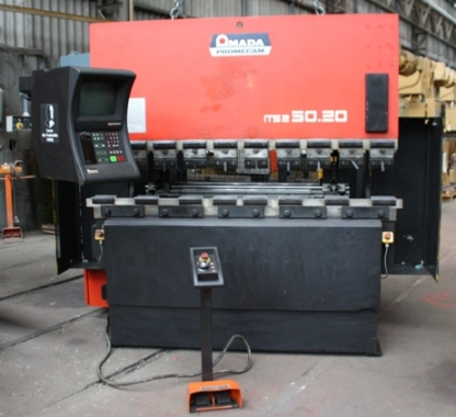 PRESSE PLIEUSE&nbsp;AMADA PROMECAM&nbsp;50&nbsp;Tonnes&nbsp;x&nbsp;2000&nbsp;mm&nbsp;&nbsp;